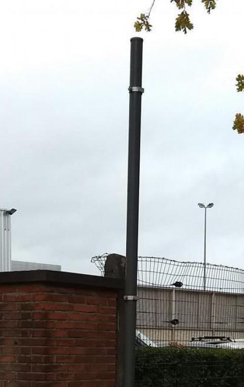 """72 nieuwe parkeerplaatsen aan sportcentrum """"De Witte Molen""""."""