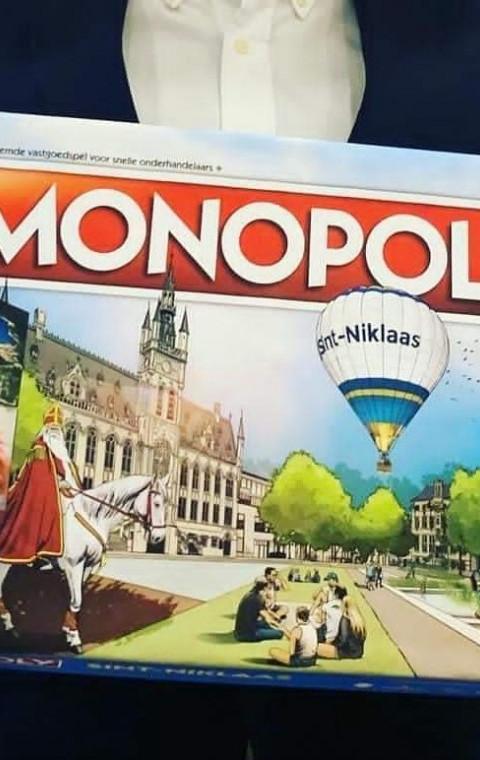 Laatste vakje Sint-Niklase Monopoly spel ingevuld.
