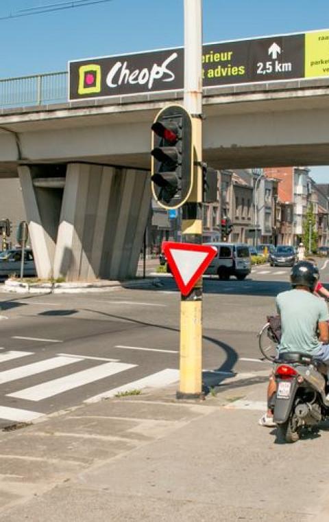 Conflictvrij kruispunt Plezantstraat