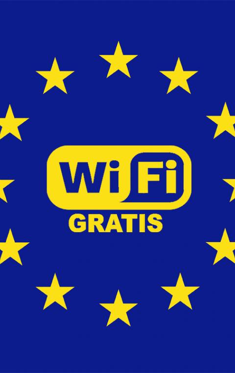Gratis Wi-Fi in het centrum van Lokeren.